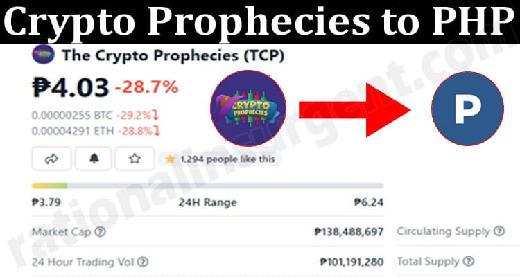 Crypto Prophecies to PHP 2021.