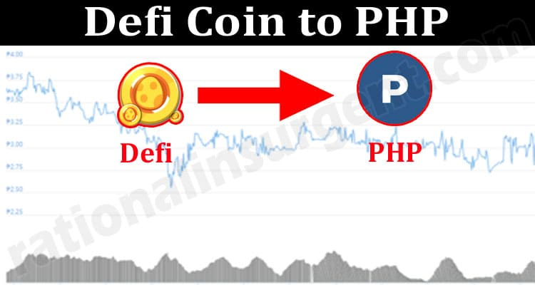 Defi Coin to PHP 2021.