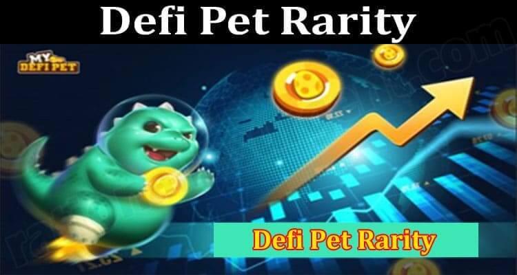 Defi Pet Rarity 2021.