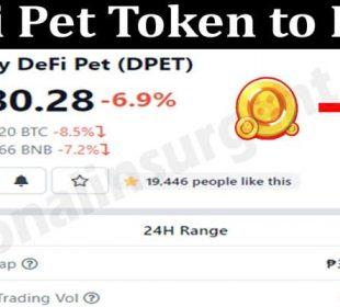 Defi Pet Token to PHP 2021