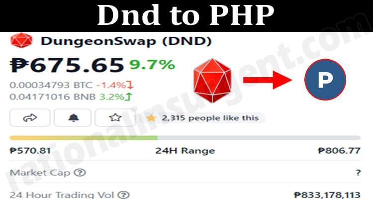 Dnd To PHP 2021.
