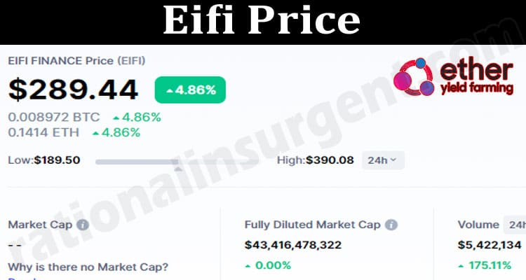 Eifi-Price 2021.