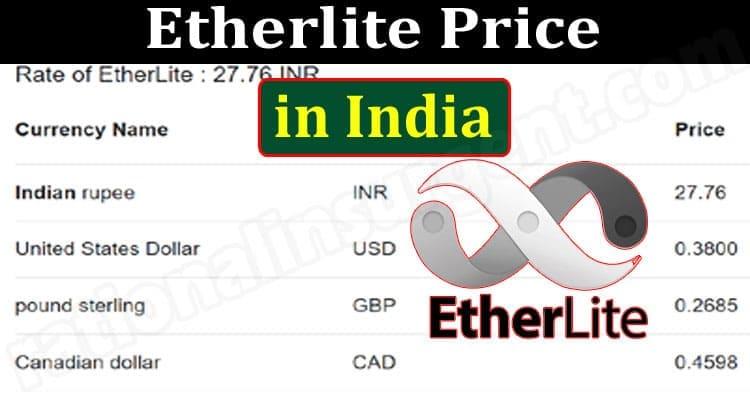 Etherlite Price In India
