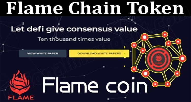 Flame Chain Token 2021.