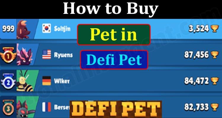 How to Buy Pet in Defi Pet 2021.