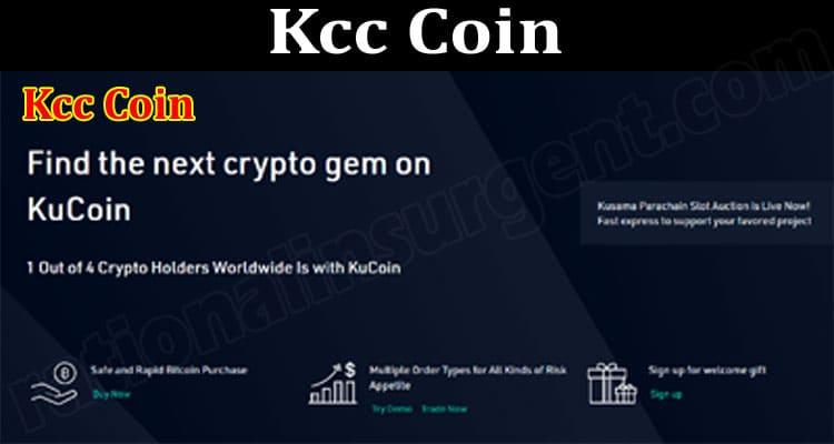 Kcc Coin 2021.