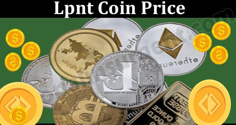 Lpnt Coin Price 2021.