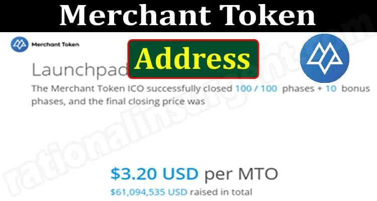Merchant Token Address 2021.