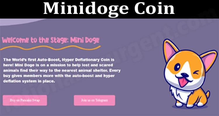 Minidoge Coin 2021.