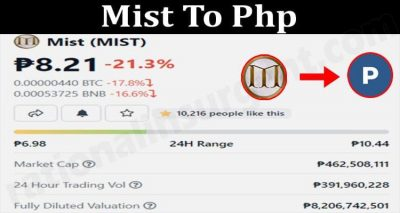 Mist To Php 2021