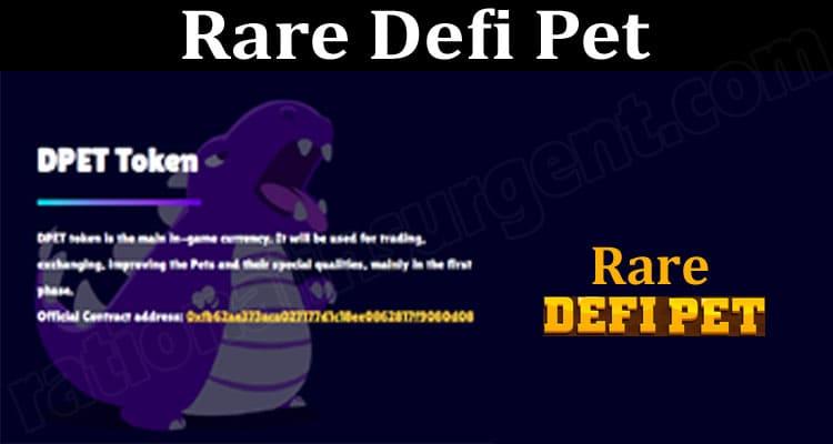Rare Defi Pet 2021.