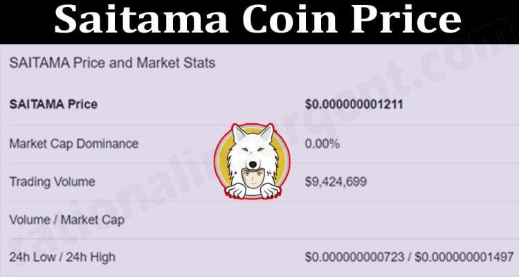 Saitama Coin Price 2021.