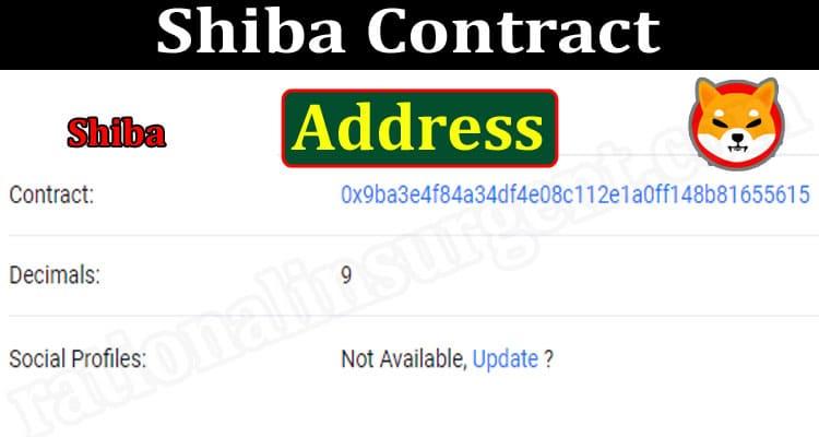 Shiba Contract Address 2021.