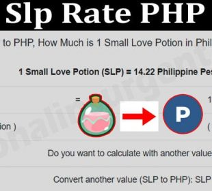 Slp Rate PHP 2021..