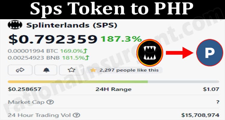 Sps Token To PHP 2021.