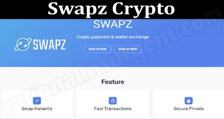 Swapz Crypto 2021.