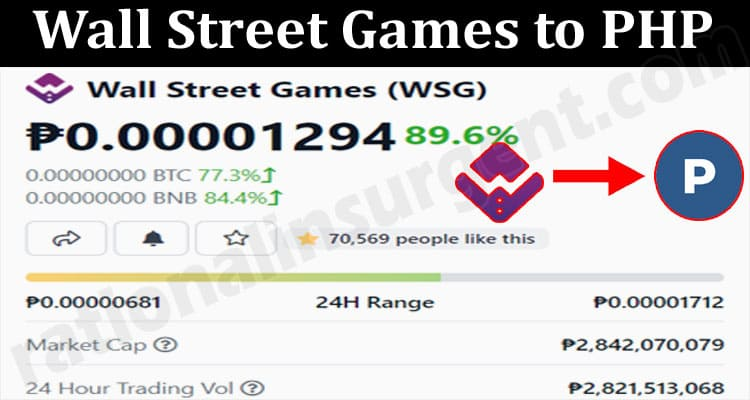 Wall Street Games To PHP 2021.