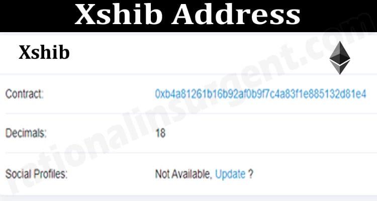 Xshib Address 2021.