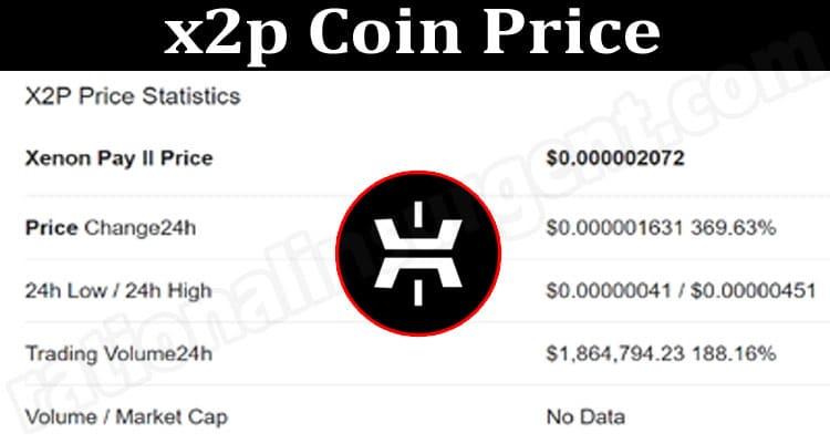 x2p Coin Price 2021.