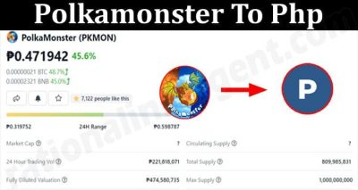About General Infomation Polkamonster To Php 2021