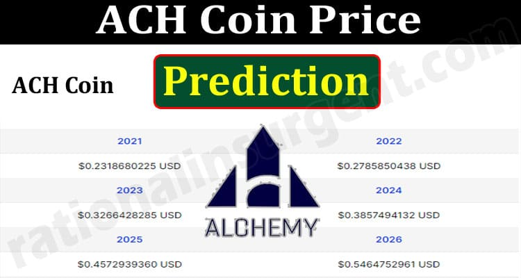 About General Information ACH-Coin-Price-Prediction