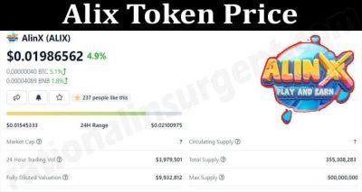 About General Information Alix Token Price