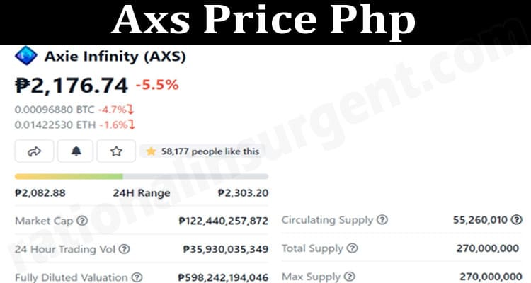 About General Information Axs-Price-Php