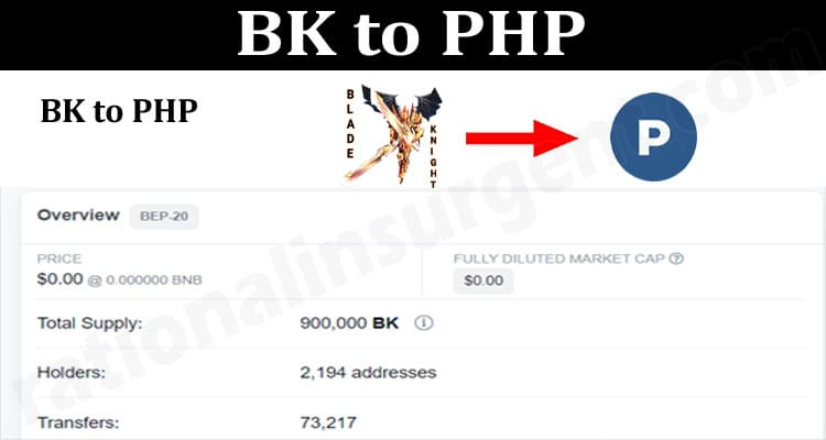 About General Information BK-to-PHP