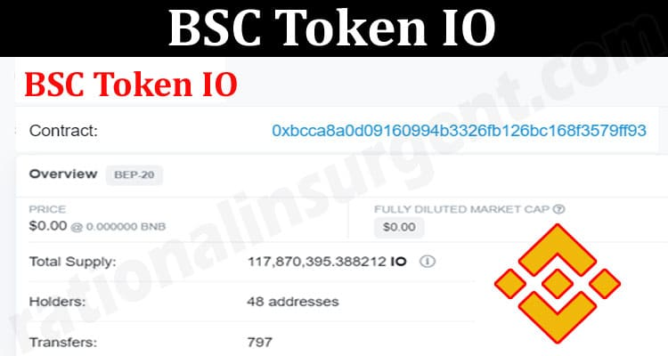 About General Information BSC-Token-IO