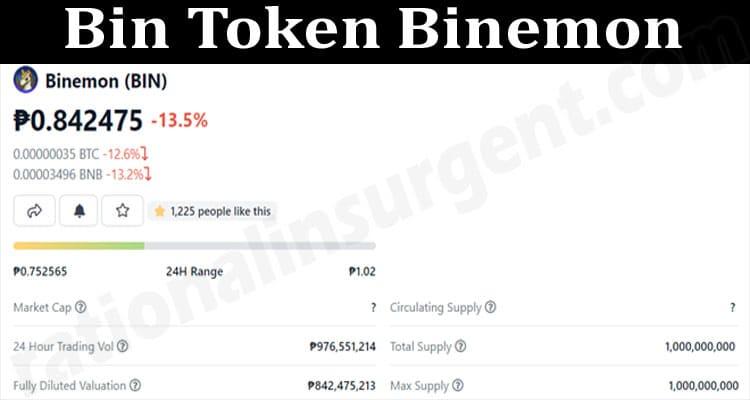 About General Information Bin Token Binemon