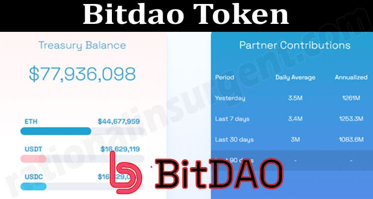 About General Information Bitdao Token