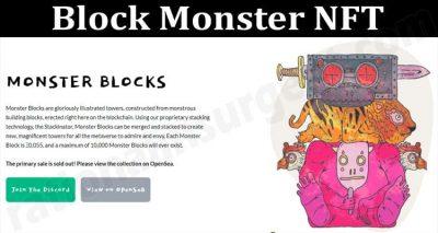 About General Information Block Monster NFT