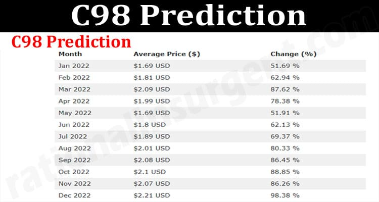 About General Information C98 Prediction