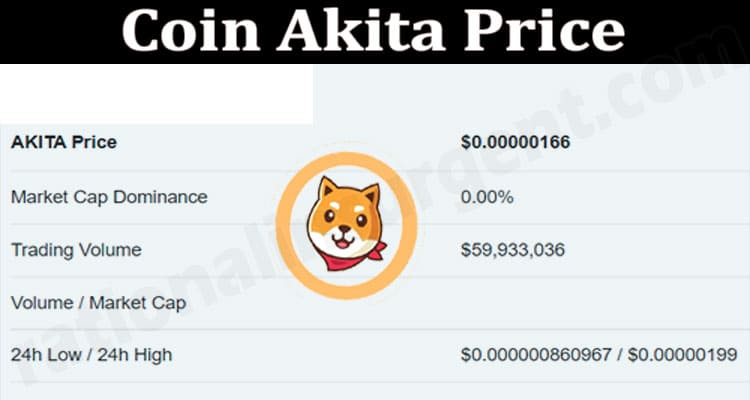 About General Information Coin Akita
