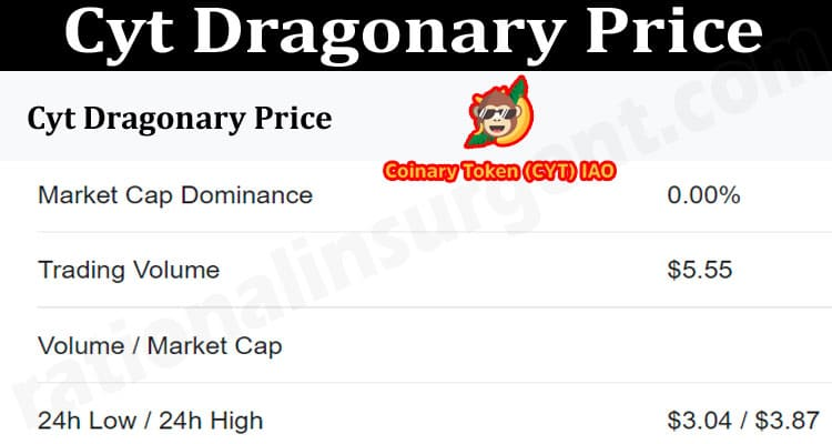 About General Information Cyt Dragonary Price.