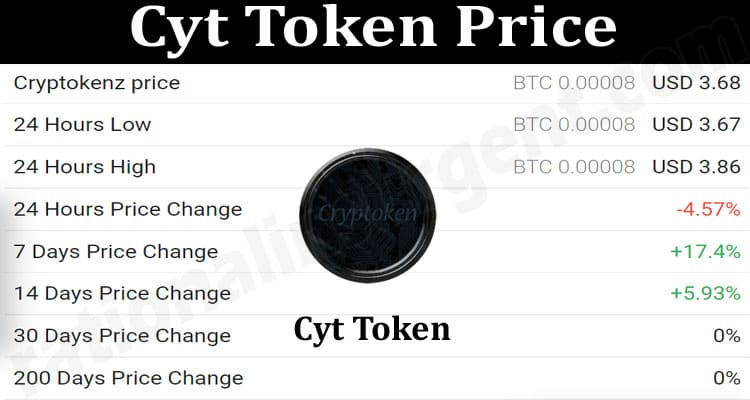 About General Information Cyt-Token-Price