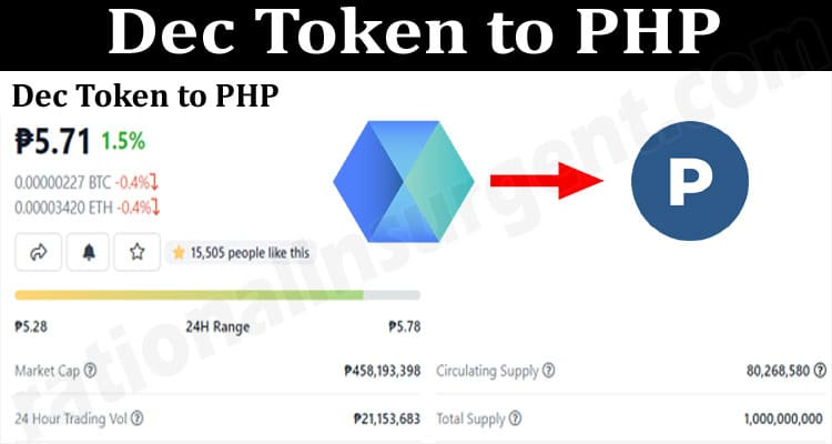 About General Information Dec-Token-to-PHP