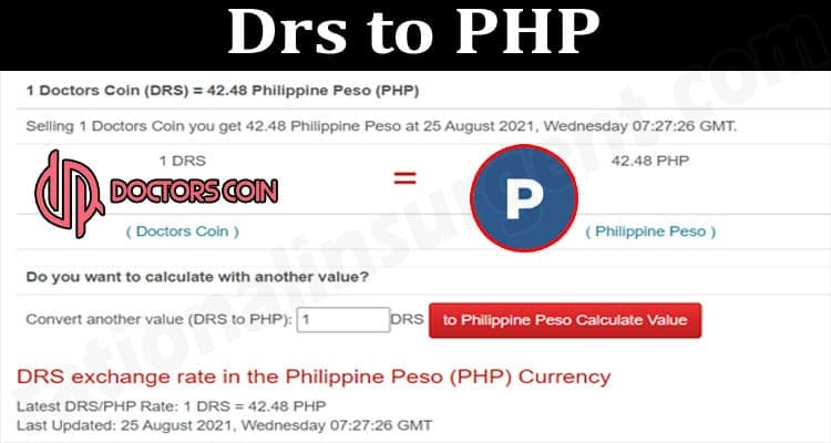 About General Information Drs to PHP
