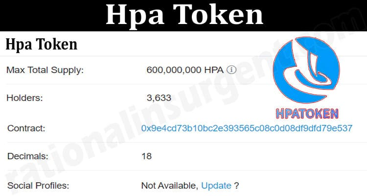 About General Information Hpa-Token