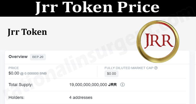 About General Information Jrr-Token-Price