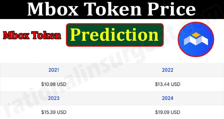 About General Information Mbox Token Price Prediction