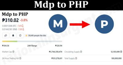 About General Information Mdp To PHP