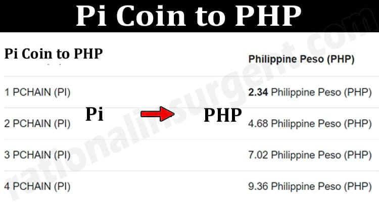 About General Information Pi-Coin-to-PHP