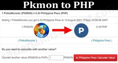 About General Information Pkmon To PHP