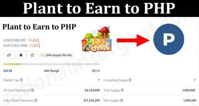 About General Information Plant to Earn to PHP