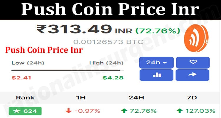 About General Information Push Coin Price Inr