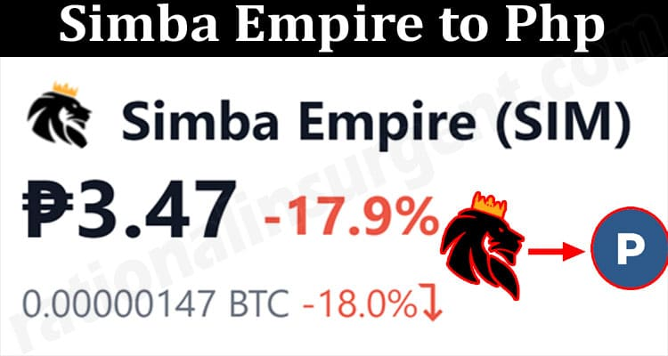 About General Information Simba Empire to Php