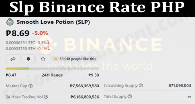 About General Information Slp-Binance-Rate-PHP