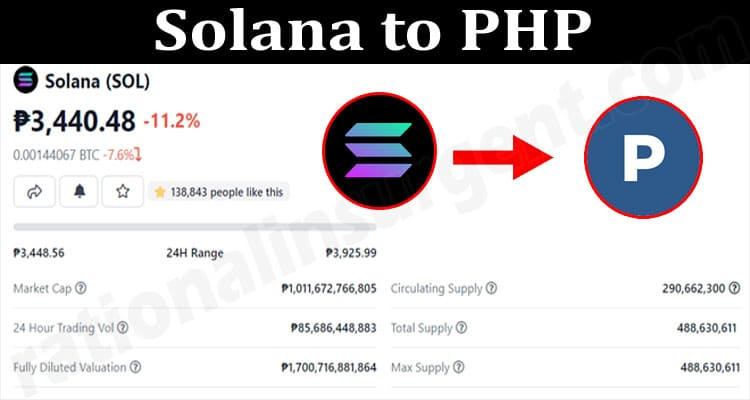 About General Information Solana to PHP