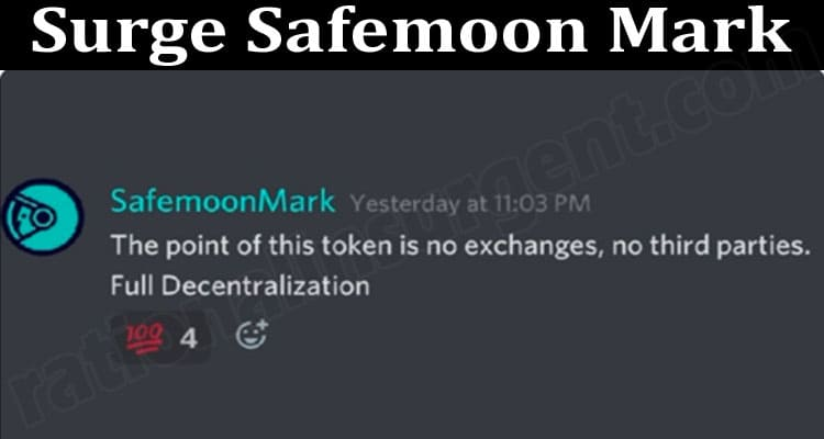 About General Information Surge-Safemoon-Mark